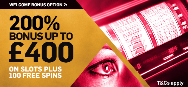 Betfair £400 Casino Bonus Offer