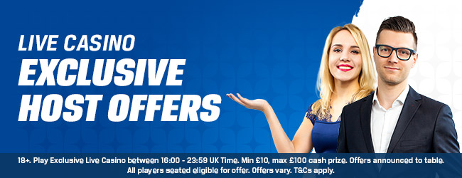 Coral Live Casino Offers