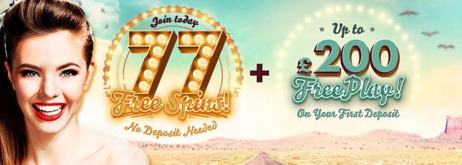 777 Casino No Deposit Free Spins Bonus